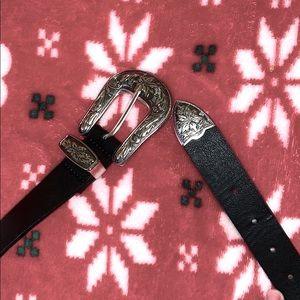 Black H&M belt